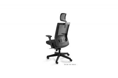 Kancelárska stolička Nataly s farebným sedadlom