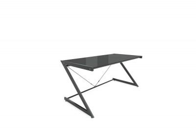 Dizajnový stôl Prest čierna/čierna