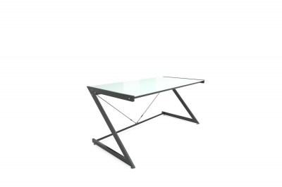 Dizajnový stôl Prest biela/čierna