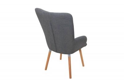 Set stoličky a podnožky Sweden sivá
