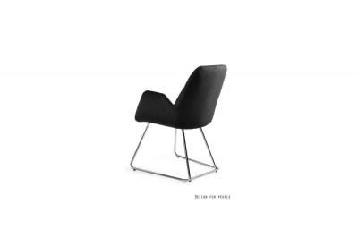 Dizajnová stolička Catherine čierna