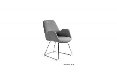 Dizajnová stolička Catherine šedá