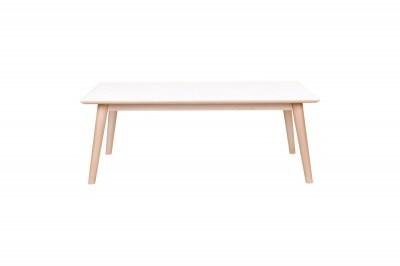 Konferenčný stolík Ronald, bielo-prírodný
