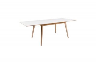 Rozťahovací stôl Ronald 230, prírodný / biely