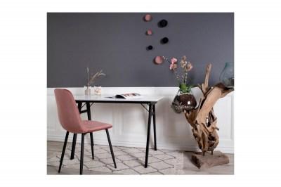 Dizajnový písací stôl Carmen biely / čierny