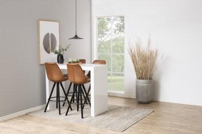 Biely barový stôl Nazira