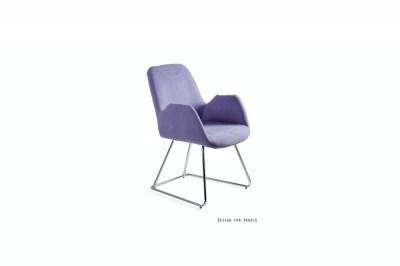Dizajnová stolička Catherine modrá