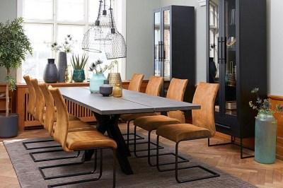 Jedálenská stolička Gwan velúr/ rôzne farby