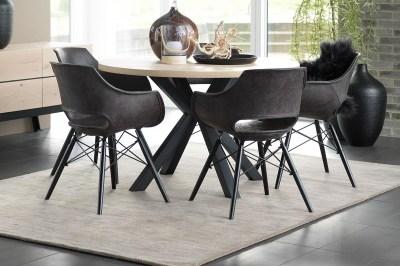Dizajnový jedálenský stôl Madie okrúhly 120cm