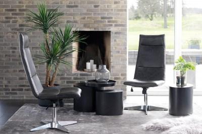 Kancelárska stolička Brin čierna