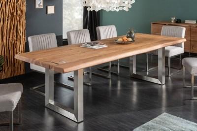 Jedálenský stôl Massive Artwork 200 cm prírodná akácia