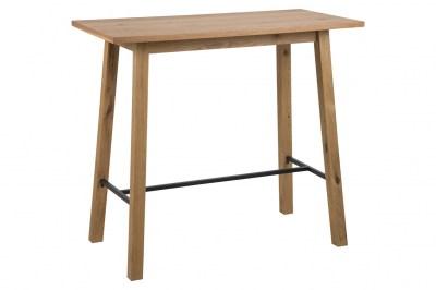 Barový stôl Nadida 117 cm divoký dub