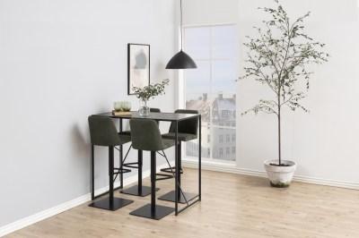 Barový stôl Naja 120 cm čierna jaseň