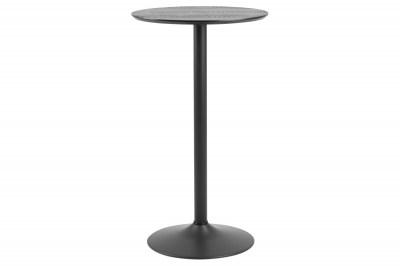 Barový stôl Neesha čierny
