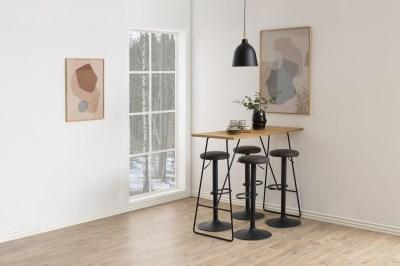 Barový stôl Neil 127 cm divoký dub