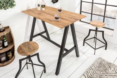 Barový stôl Queen 120 cm divý dub
