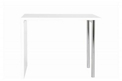 Biely barový stôl Neal 120 cm