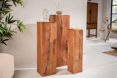 Dekoratívny stĺp Elegant mango - set 3 ks