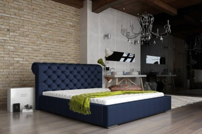 Dizajnová posteľ Myah 160 x 200 - 8 farebných prevedení