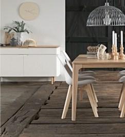 Rozťahovací jedálenský stôl Desiree 160 - 210 cm