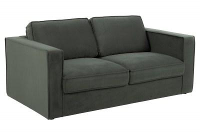 Dizajnová 2-miestna sedačka Danette 176 cm sivá