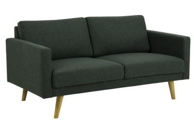 Dizajnová 2-miestna sedačka Danson 160 cm zelená