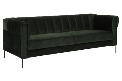 Dizajnová 3-miestna sedačka Darice 216 cm tmavozelená