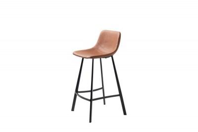 Dizajnová barová stolička Claudia svetlohnedá