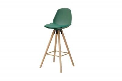 Dizajnová barová stolička Nerea, mrazivá zelená