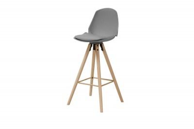 Dizajnová barová stolička Nerea, šedá