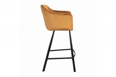dizajnova-barova-stolicka-s-podruckami-giuliana-100-cm-horcicovy-zamat-003