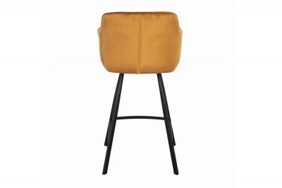 dizajnova-barova-stolicka-s-podruckami-giuliana-100-cm-horcicovy-zamat-004