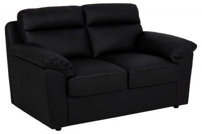 Dizajnová dvojsedačka Darsha 146 cm čierna