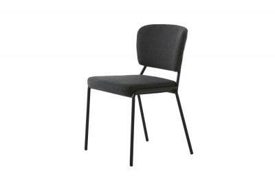 Dizajnová jedálenská stolička Alissa sivá
