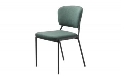 Dizajnová jedálenská stolička Alissa zelená