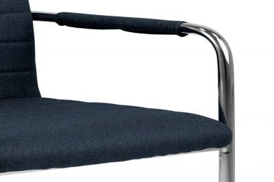 dizajnova-jedalenska-stolicka-daitaro-s-opierkami-tmavomodra-strieborna-4
