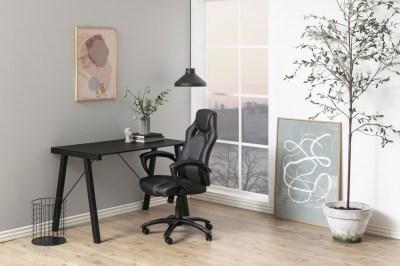 Dizajnová kancelárska stolička Nardos , šedá-čierna