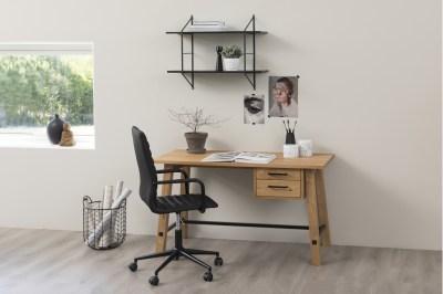Dizajnová kancelárska stolička Narina, čierna