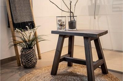 Dizajnová lavica Brenda 50 cm teak