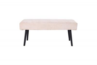 Dizajnová lavica Elaina, pieskový menčester