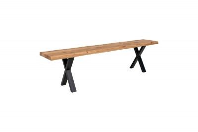 Dizajnová lavica Jonathon 180 cm prírodný dub