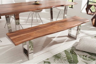Dizajnová lavica Massive 180 cm sheesham