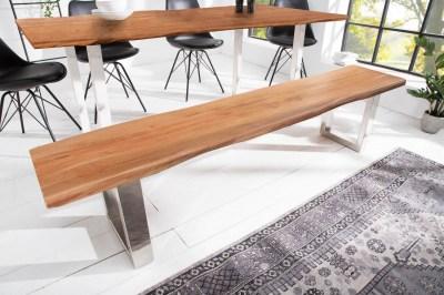 Dizajnová lavica Massive Honey 200 cm akácia