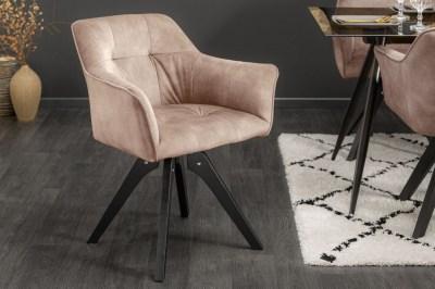 Dizajnová otočná stolička Giuliana