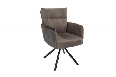 Dizajnová otočná stolička Maddison zelená