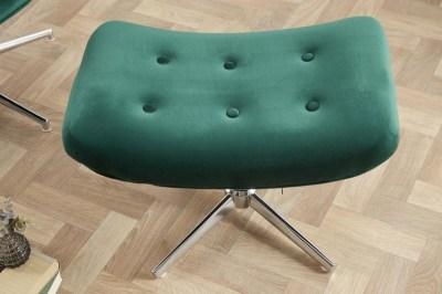 dizajnova-otocna-taburetka-joe-smaragdovozeleny-zamat-002