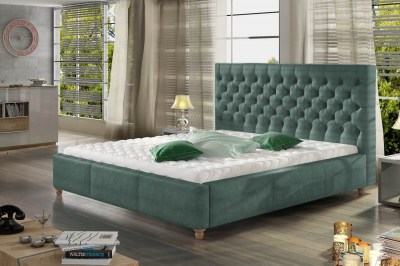 Dizajnová posteľ Kamari 160 x 200 - 9 farebných prevedení