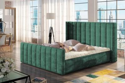 Dizajnová posteľ Nathanael 160 x 200 - 6 farebných prevedení