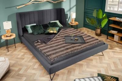Dizajnová posteľ Phoenix 180 x 200 cm antracit