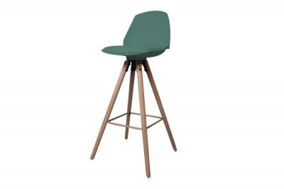 Dizajnová pultová stolička Nerea, mrazivá zelená